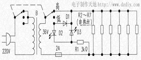 电热毯电路---电子制作天地