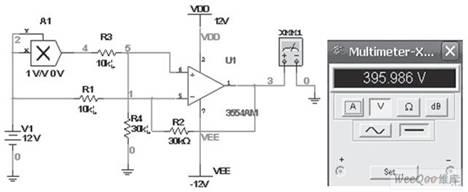 multisim三角波的设计电路图
