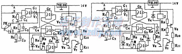 水泵双位自动控制电路的一点小改进