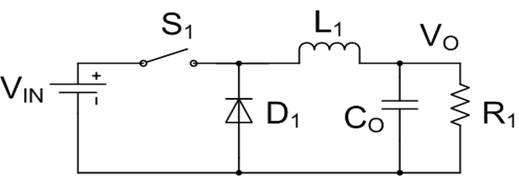 非同步buck电路结构